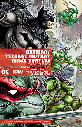 Batman/Teenage Mutant Ninja Turtles (2015-2016) Deluxe Edition (English Edition)