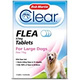Bob Martin - Clear Flea Tablets for Large Dogs Over 11kg x 3 Tablets