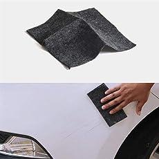 GFEU Auto Kratzer Entferner Tuch, Magic Nano-Meter Auto Kratzer Radiergummi Reparatur Tuch Politur für leichte Lackkratzer, Starke Dekontamination