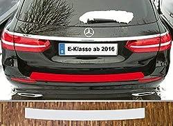 passgenau für Mercedes E-Klasse T-Modell S213, ab 2016 Lackschutzfolie Ladekantenschutz transparent