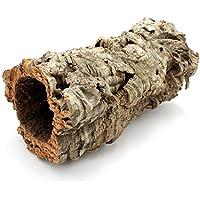 Bonito, larga corcho Tubo para conejos, conejos, cobayas, chinc Hilla hámster y repilien. La Cueva para roedores de corcho corteza