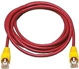 Allen Tel at1505-rec Kategorie 5e Ethernet Crossover-Kabel, 5-foot Länge, Rot, AT15Serie, U/UTP Patchkabel, 2Paar, 4verseilte Kupferleiter