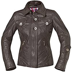 Held Shina Chaqueta de piel Marrón chocolate Talla:34