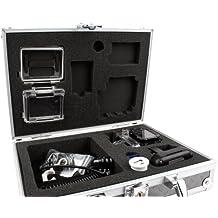 Maletín / Estuche rígido para cámara deportiva Excelvan Q3 / Q5 / DV Y8 / Elephone ELE CAM Explorer, con gomaespuma personalizable - DURAGADGET