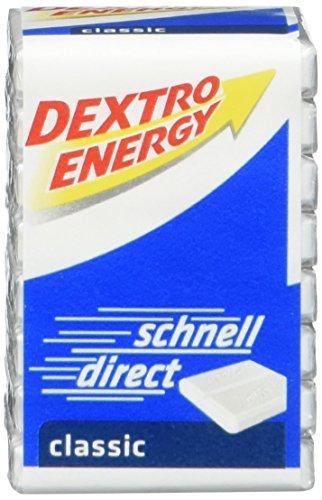 Dextro Energy Würfel Classic / Je 8 Dextrose-Täfelchen mit schnell verfügbarem Traubenzucker / 9 Packungen (9 x 46g) - Traubenzucker