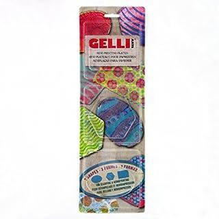 Gelli Arts Printing Plates Minis (Rectangle, Oval, Hexagon)
