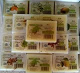 Set 12 saponi misti all'olio di Neem da 100gr. biocertificati - indicati per tutti i tipi di pelle