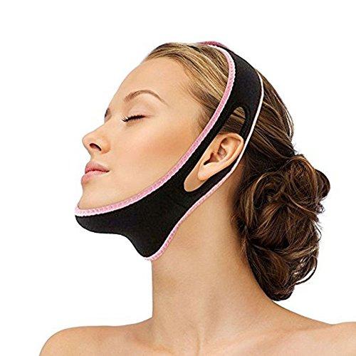 PBFONE Gesicht V Shaper Gesichts Abnehmen Bandage Entspannung Heben Gürtel Form Lift Reduzieren Doppelkinn Gesichtsmaske Gesicht Thining (Nacht Creme Japan)
