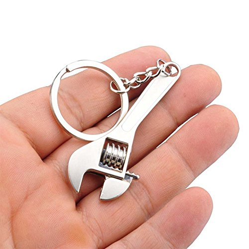 Outstanding® verstellbar Schraubenschlüssel Steckschlüssel Blatt Schlüsselanhänger