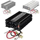 TecTake Inversor eléctrico onda modificada 12V a 220V convertidor de voltaje - varios modelos - (Typ 1 | no. 400976)