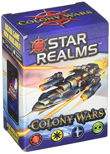 White Wizard Games WWG011-EN - Star Realms Deckbuilding Spiel, Colony Wars - ()