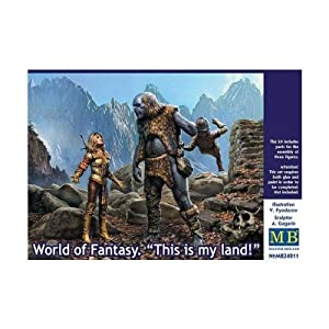 Master Box mb24011-World of Fantasy.This Is My País., Figuras