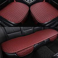 GC Cómodo Y Transpirable Four Seasons General Interior Seat Cushion Cover Pad Mat para Silla De Oficina Auto Car Chair Supplies,Red