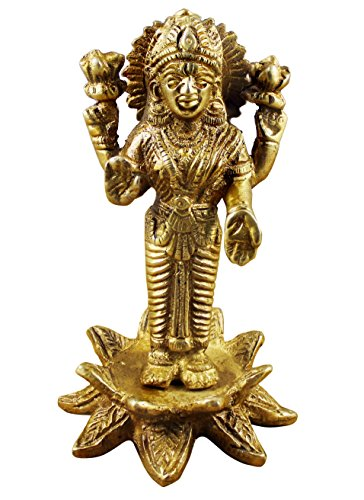 lakshmi-or-laxmi-brass-statue-goddess-of-fortune-and-wealth-symbol-of-love-and-grace-10-x-6-x-6-cm