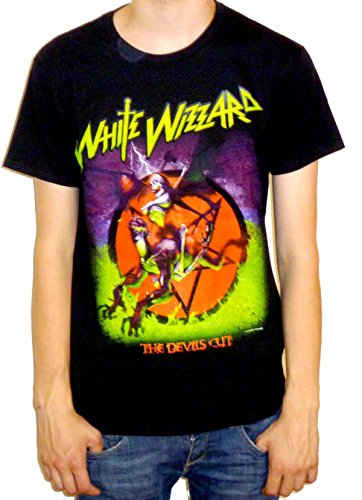 White Wizzard - The Devils Cut T-shirt Schwarz