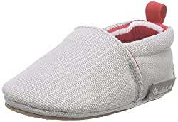 Sterntaler Unisex Baby-Krabbelschuh Krabbel- & Hausschuhe Grau (steingrau 583) 15/16 EU