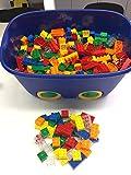 Buggi Toys Basis Set Classic 500 Stk. Bausteinset mit 350 x 8er und 150 x 4er Steinen