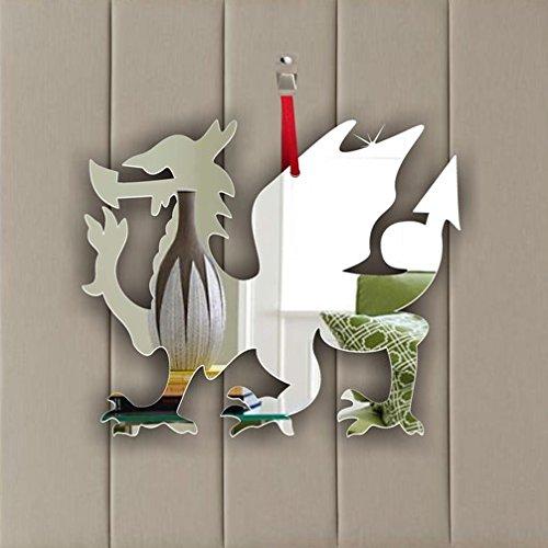 Stück Weihnachten Schmuck Walisischer Drache (7cm jede)–Fenster, Hängen–Decke,–Tür–Kinderzimmer–Die Kinder–Zimmer Dekoration, 10er-Pack