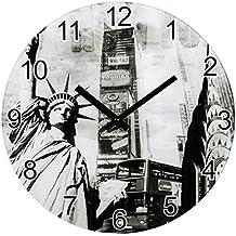 Hama 00136218 - Reloj de pared, New York