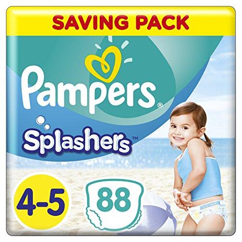 Pampers Splashers Einweg Swim Hose, Größe 4/5, 9bis 15kg, 8Stück