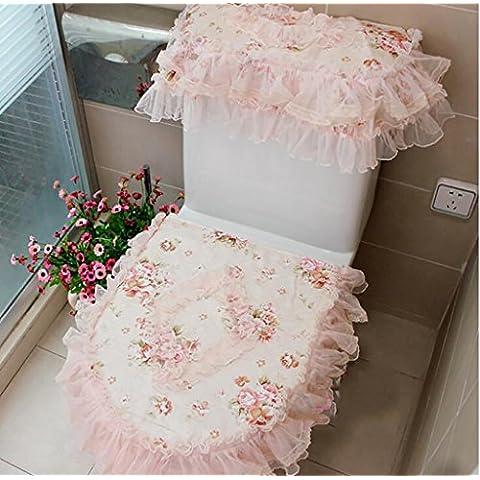 XWG WC mat / tessuto fiore romantico