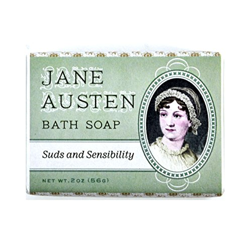 3 Pack - Jane Austen Bath Soap - Made in The USA - English Lavender Liquid Soap