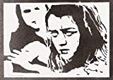 Arya Stark Game Of Thrones Poster Plakat Handmade Graffiti Sreet Art - Artwork