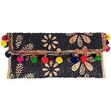 Parfois - Clutch - Bolso De Fiesta Straw - Mujeres