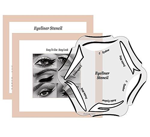 ür den perfekten Lidstrich by BLISSANY, Cat Eyeliner, Lidstrich Schablone, 12 Styles, Double Wing, Extravagant Cat, Arabic Eyeliner ()
