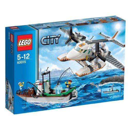 LEGO City Küstenwache 60015 - Küstenschutzflugzeug (Lego City Coast Guard)