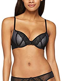 Iris & Lilly Reggiseno Push-up Maya Plunge Donna, Pacco da 2