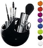 Spirella Kosmetikorganizer 'Bowl' Aufbewahrungsbox für Make Up und Schmuck 10,5x9,5cm Schwarz