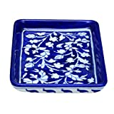 #10: Shriyam Craft Blue Pottery Decorative Tray