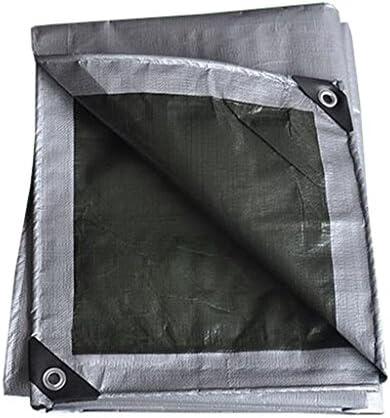 LIYFF- qualità argentoo e telone Resistente ai Raggi Raggi Raggi UV prossoetto - Polietilene ad Alta densità e Doppio Laminato, Spessore 0,35 mm, opzioni Multi-Formato (Dimensioni   3MX4M) | Bel design  | adottare  55feb7