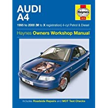 Audi A4 Petrol and Diesel Service and Repair Manual: 1995 to 2000 (Service & repair manuals)