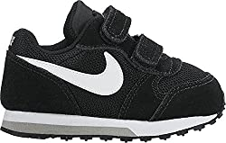 Nike Jungen Md Runner 2 (Tdv) Lauflernschuhe, Schwarz (Black/White-Wolf Grey), 27 EU