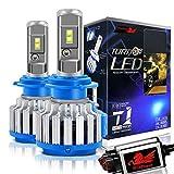 Win Power H7 Cree LED Éclairage Avant Kit de conversion tout-en-un Blanc froid 7,200 lm 70 W 6 000 K 2 ampoules