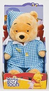 JoyToy Winnie the Pooh 800426 - Winnie the Pooh en pijama, 25 cm importado de Alemania