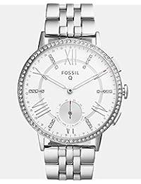 Fossil Q Gazer Hybrid Silver Stainless Steel Smartwatch