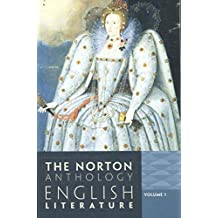 1: The Norton Anthology of English Literature