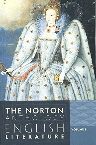 1: The Norton Anthology of English Literature