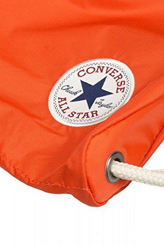 Converse Unisex Core Poly Cinch Gymsack Rucksack Orange (Col. 800)