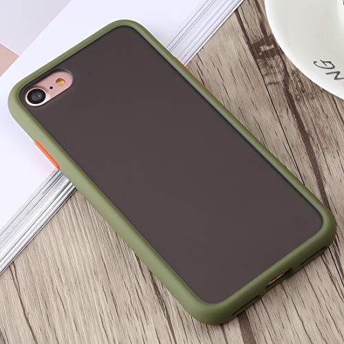 TONGTAIRUI-Cellphone Covers Schöne Fälle & Abdeckungen Gingle Series II Stoßfestes TPU + PC-Gehäuse für iPhone 8 und 7 Für iPhone (Farbe : Armeegrün)