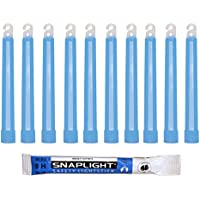 Cyalume SnapLight Blau KnickLichter Glow Sticks – 15cm 6 Inch Industrial Grade Leuchtstab, Ultra helle Light Sticks mit