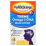 Haliborange Teens Omega-3 DHA Brain Support Orange Chewable Capsules 30