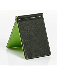 Ocamo Men Women's Retro Style Hardwearing PU Leather Multi Color Card Bag Wallet Purse