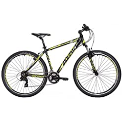 "Mountain Bike Atala REPLAY STEF VB 21V nero giallo S 16"" (155-170 cm)"