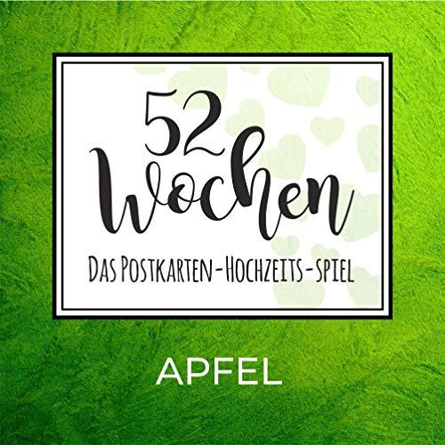 52 Wochen Hochzeits-Spiel (300g. Papier) (Apfel)