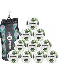 10x uhlsport Tri Concept 2.0Rebell Fútbol (Bolsa incluida)