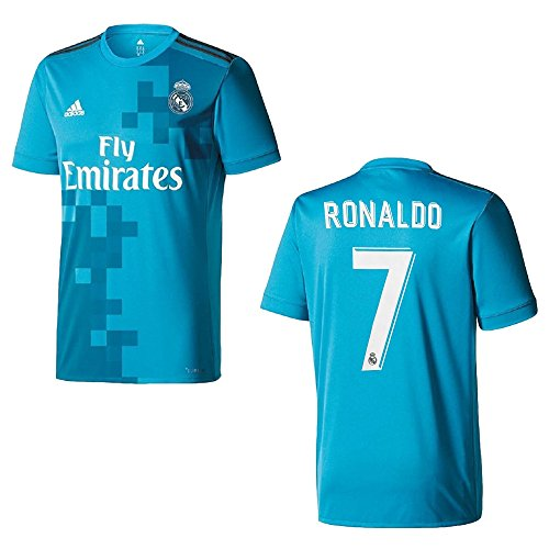 Real Madrid Maillot 3rd enfants 2018 – Ronaldo 7, 8-9 ans